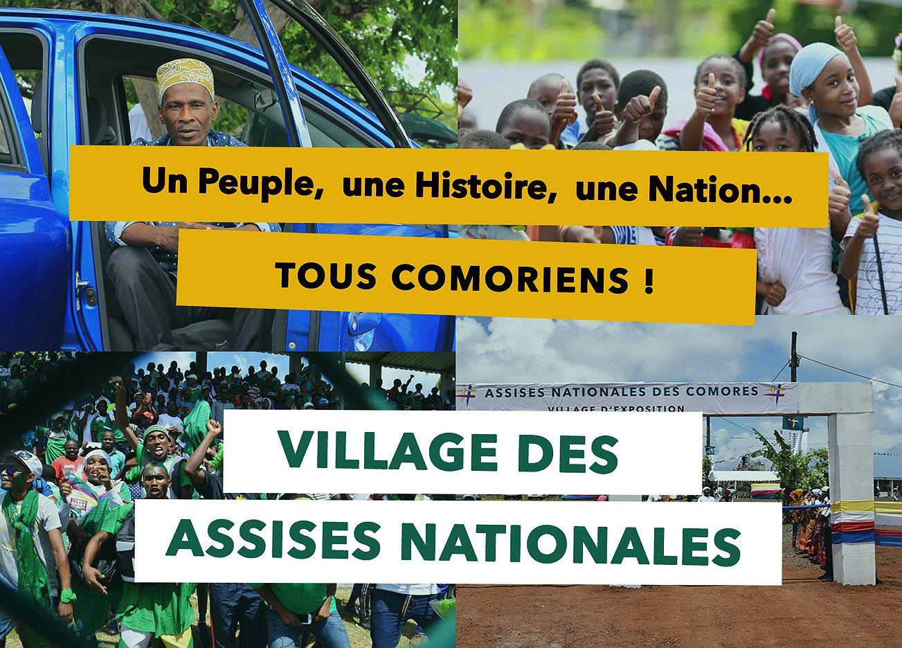 Village des Assises Nationales (Kalaweni) – Programme du 5 au 11 Février