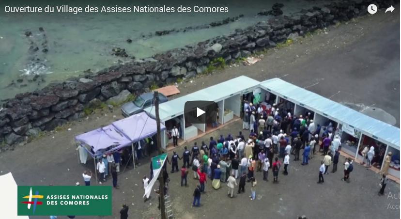 Vidéo / Ouverture à Kalaweni du village d'exposition des Assises Nationales